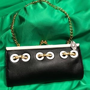 Vintage Steve Madden clutch with chain strap